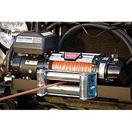 Warn 12v endurance winch 24m wire rope w/ wireless remote, 12.0xe-78600