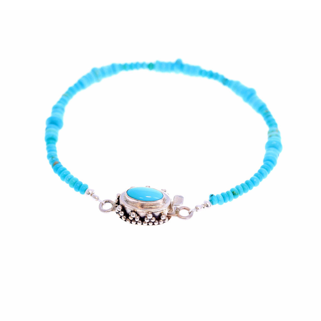 SLEEPING BEAUTY TURQUOISE Bracelet 3-5mm Southwest Charm