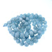 AQUAMARINE BEADS ROUND 12mm 16""