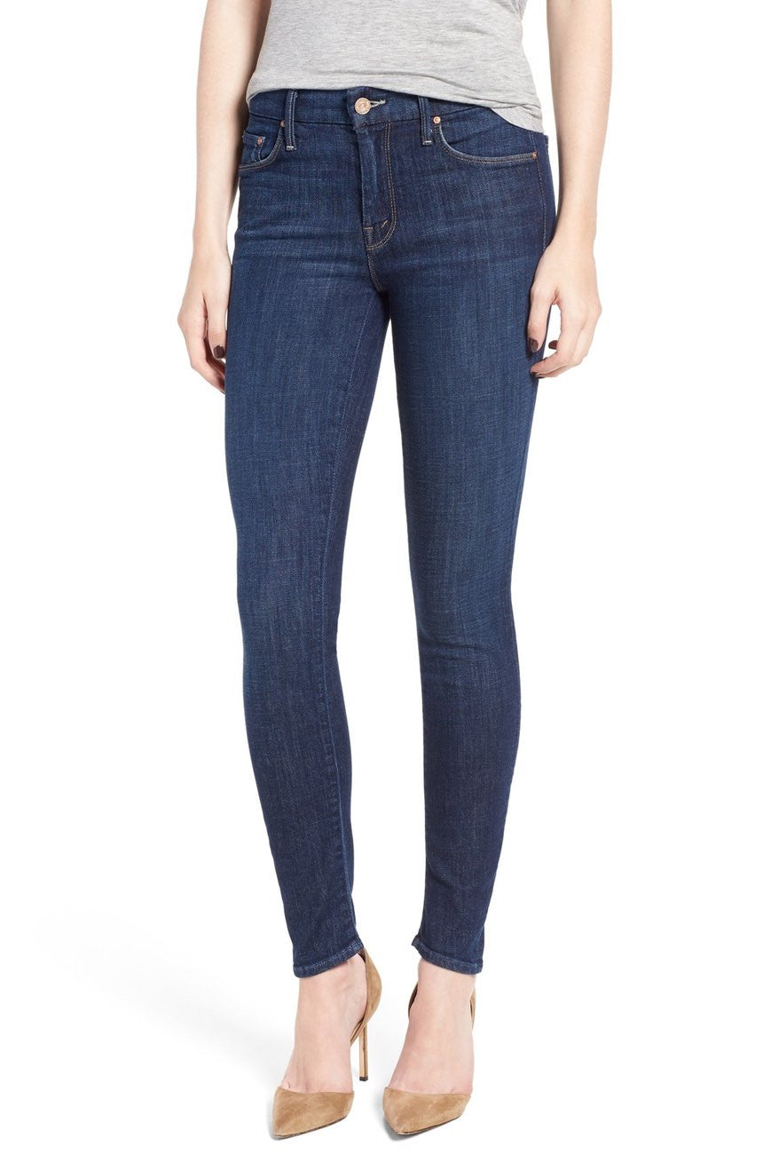 Mother Denim The Looker Classic Mid-rise Skinny Jean in Clean Sweep 1001C-383