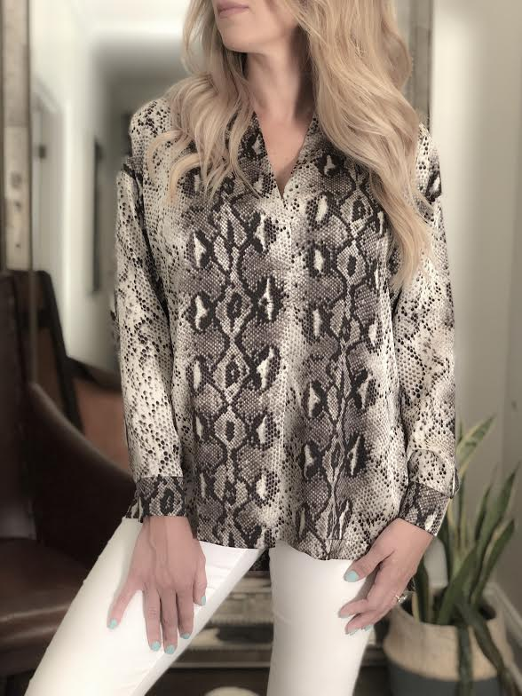 Sen Norway Long Sleeve Blouse