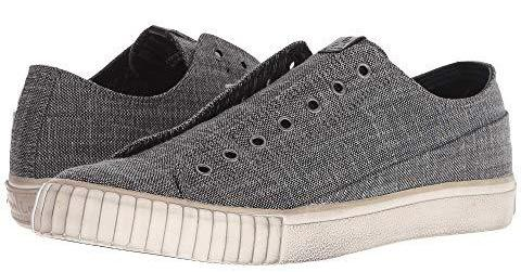 John Varvatos 2 Tone Blended Fabric Low Top Sneaker FB0001V1-A804B