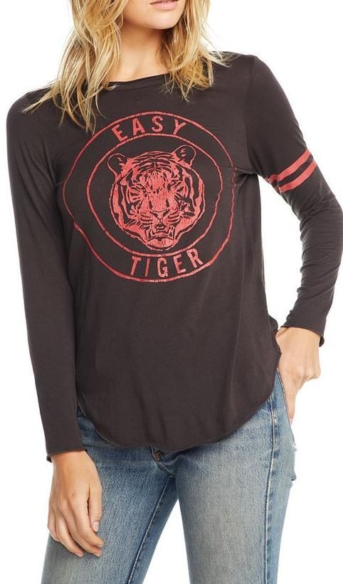 Chaser Brand Easy Tiger Long Sleeve Tee CW6670-CHA3476