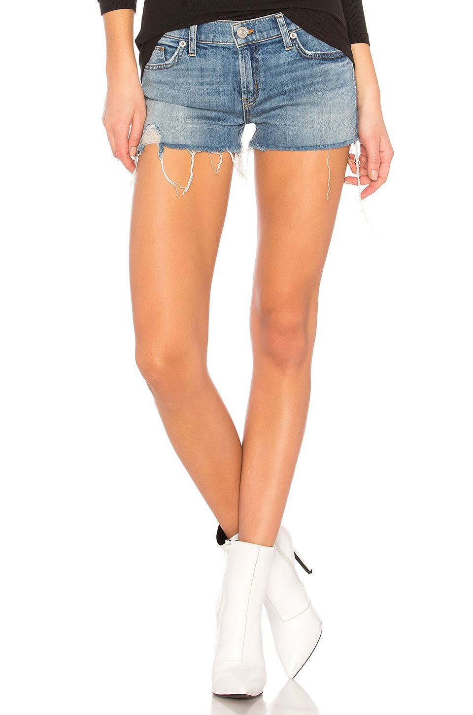 Hudson Women's Kenzie Cut Off Short in Manic Panic WR699DXA