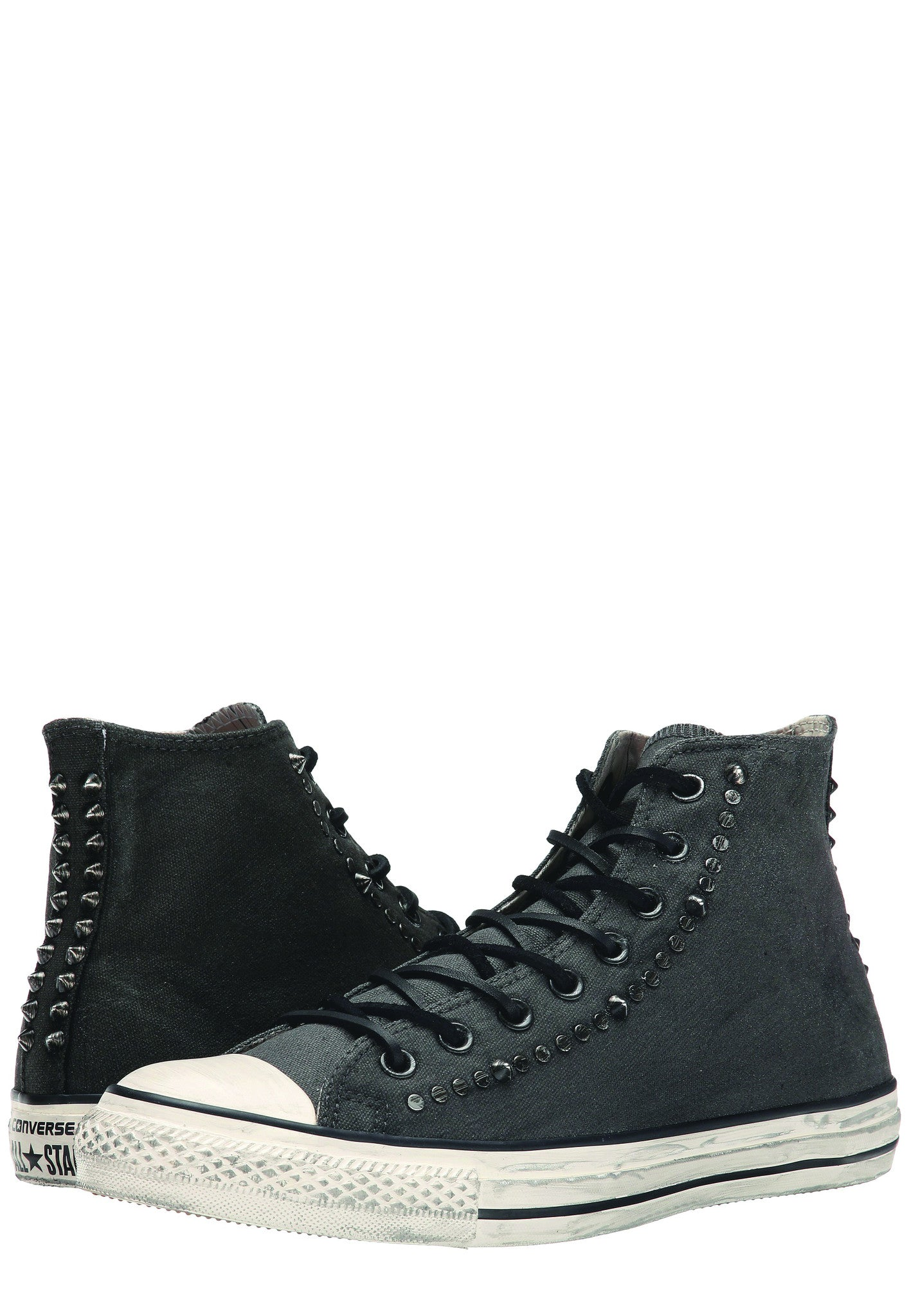Converse by John Varvatos Painted Hardware Chuck Taylor All-Star Hi Top Canvas in Black 145387C