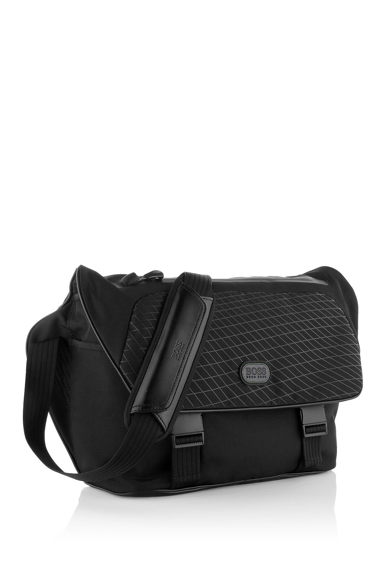 Hugo Boss Babord Messenger Bag in Textured Nylon 50285563