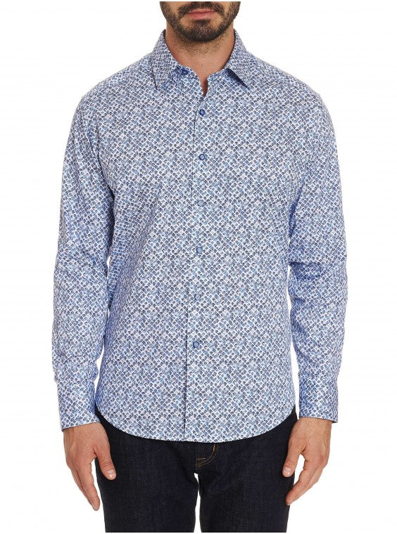 Robert Graham Celadon Button Down RS191068CF