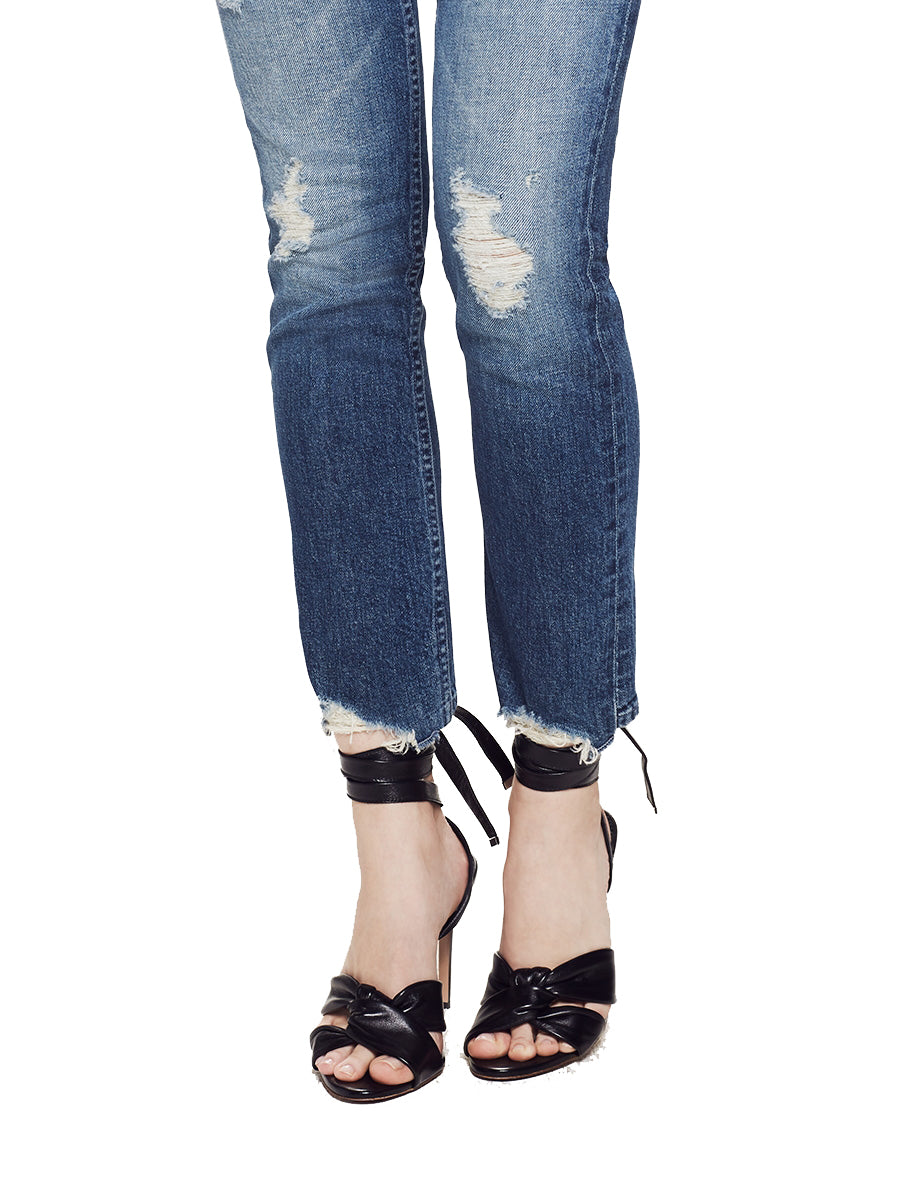 Mother Denim The Flirt Ankle Jeans in Testing the Waters 1192-259