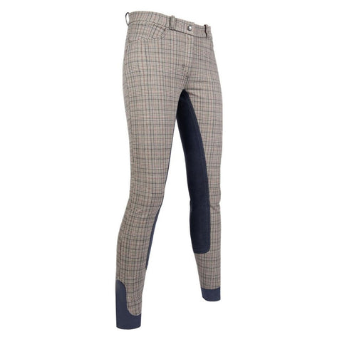Plaid Full Seat Breeches