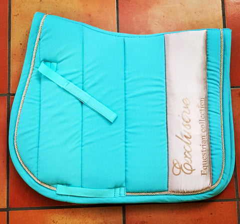 HKM Teal Exclusive collection saddle pad