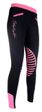 Starlight Colorful Silicone Knee Patch Riding Leggings