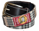 Baker Ladies Classic Plaid Belt - The Houndstooth Horse  - 1