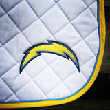 ANY TEAM! NFL Football - 3 color saddle pad w/ logo - Pony, A/P or Dressage - The Houndstooth Horse  - 2