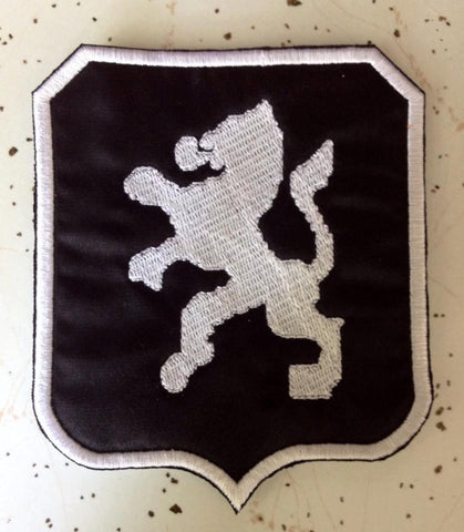 Embroidered Dutch Warmblood KWPN Patch - The Houndstooth Horse  - 1