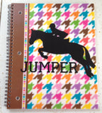 Jumper Horse Vinyl Decal - Matte - The Houndstooth Horse  - 4