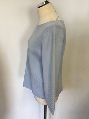 BRAND NEW HOBBS LIGHT BLUE 3/4 SLEEVE JUMPER SIZE S