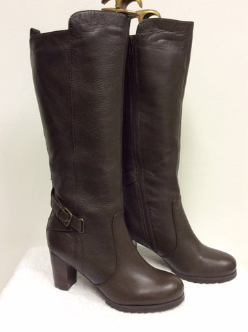 BRAND NEW NATURALIZER BROWN FUR LINED BOOTS SIZE 6.5/40 - Whispers Dress Agency - Womens Boots - 2