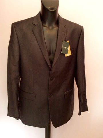 Brand New Greenwoods Dark Grey Wool Blend Suit Size 42R /36R - Whispers Dress Agency - Mens Suits & Tailoring - 2