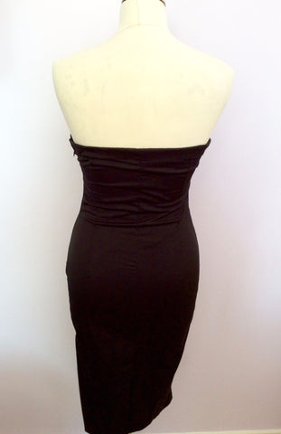 Arrogant Cat London Black Strapless Dress Size S - Whispers Dress Agency - Womens Dresses - 2