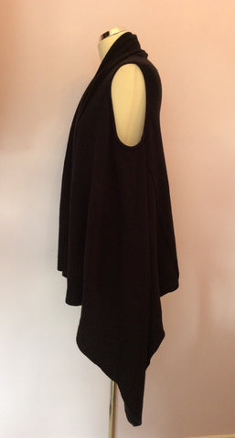 Betty Barclay Black Sleeveless Cardigan Size 14 - Whispers Dress Agency - Womens Knitwear - 2