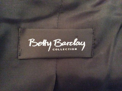Betty Barclay Black Wool Jacket Size 10 - Whispers Dress Agency - Womens Coats & Jackets - 3