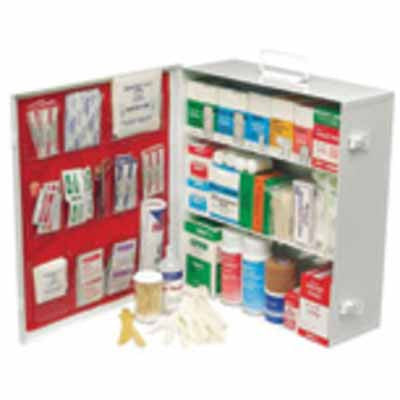 North by Honeywell 34180FP 3 Shelf Industrial First Aid Station - AMMC
