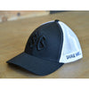 Hat - Black on Black / Trucker Snap Back - Savage Barbell