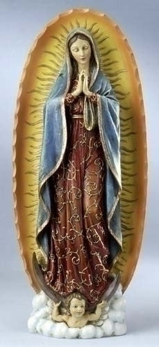 "O.L.GUADALUPE/18"" RESIN"