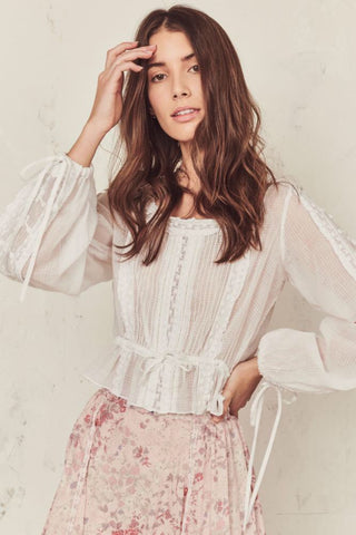 Love Shack Fancy Pippa Top