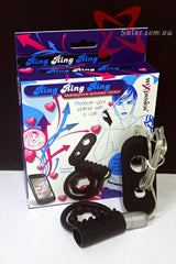 Mobilephone Activated Vibrating Cock Ring
