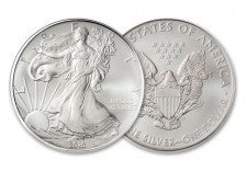 2010 1 Dollar 1-oz Silver Eagle BU
