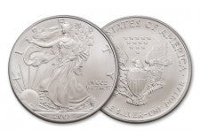 2003 1 Dollar 1-oz Silver Eagle BU