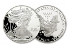2007-W 1 Dollar 1-oz Silver Eagle Proof