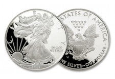 2002-W 1 Dollar 1-oz Silver Eagle Proof