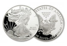 2001-W 1 Dollar 1-oz Silver Eagle Proof