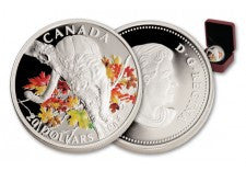 2014 Canada 20 Dollar Silver Cougar in Maple Tree Proof