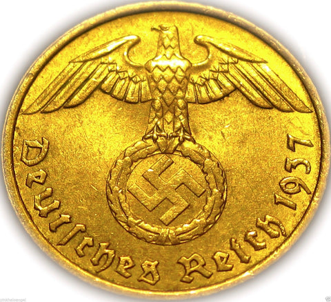 german 1937 coin ww2