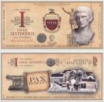 roman empire set of banknotes