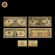 US Gold Banknote 1989 - Dollar Set PVC Note Uncirculated Collection Gift