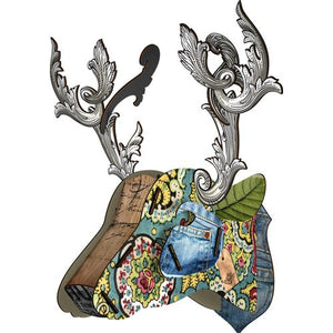 NEW Miho Viper Trophy Horse Head Wall Decor