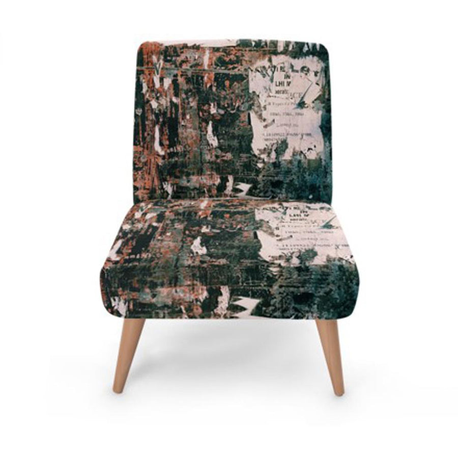 Abstract Accent Occasional Chair