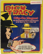 (TAS031741) - Playmates - Dick Tracy Clip-On Magnet - Dick Tracy, , Magnet, Dick Tracy, The Angry Spider Vintage Toys & Collectibles Store