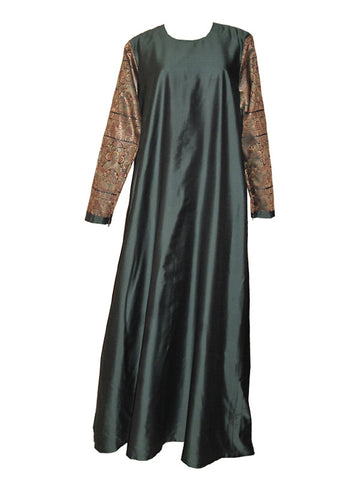 Azaleya Abaya in Blue-Gray in Size L