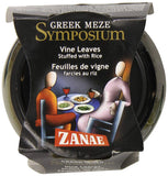 Zanae Greek Meze Symposium Vine Leaves Stuffed with Rice (280 g) - Foodcraft Online Store