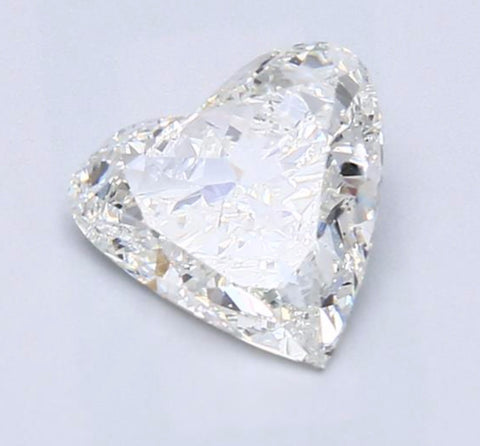 1.30ct I-SI2 Heart shape Loose Diamond  GIA certified Jewelry Anniversary Engagement JEWELFORME BLUE