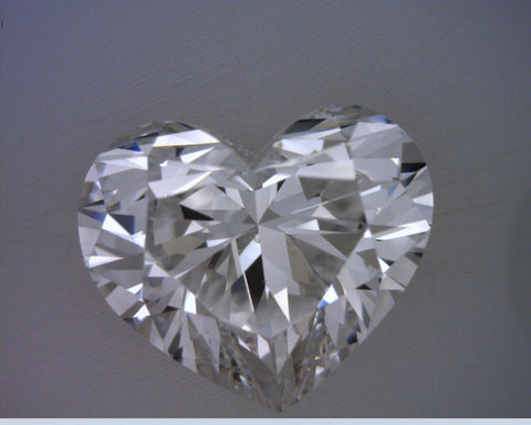 5.01ct D-VS2 Heart shape Loose Diamond  GIA certified  Anniversary Engagement JEWELFORME BLUE