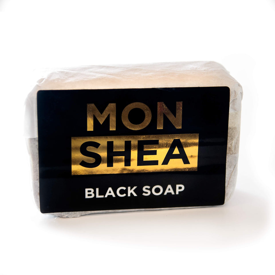 Mon Shea Black Soap for Skin (all types) and Hair