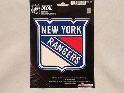 New York Rangers Die Cut Decal NEW!! 5 X 5 Window, Car or Laptop