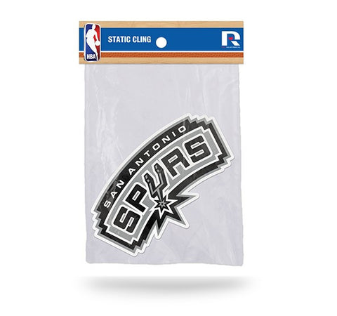 San Antonio Spurs Die Cut Static Cling Decal Sticker 3 X 6 NEW!! Car Window