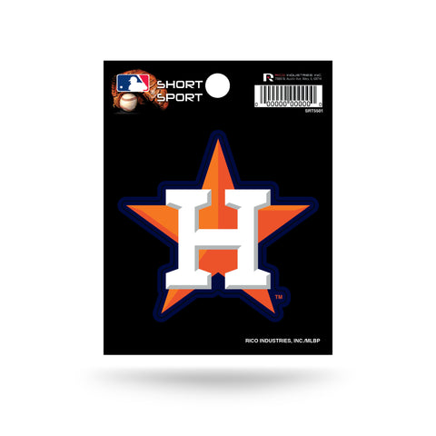 "Houston Astros 3"" x 3"" Die-Cut Decal NEW!! MLB Car or Laptop"